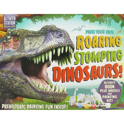 Paint Your Own Roaring Stomping Dinosaurs image number 1