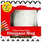 Colour Your Own Dinosaur Mug image number 1