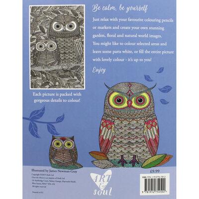 Art and Soul Calming Colouring Book image number 3