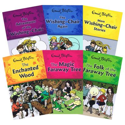 The Enid Blyton Collection: 6 Book Box Set image number 2