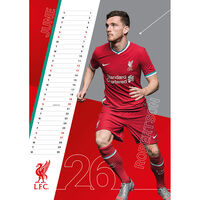 The Official Liverpool 2021 Calendar