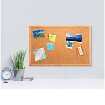 Cork Notice Board - 60cm x 40cm image number 2
