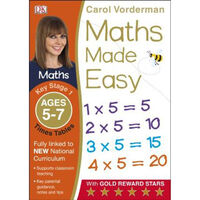 Maths Made Easy: Times Tables - Ages 5-7