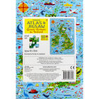 Usborne Great Britain and Ireland Atlas and 300 Piece Jigsaw image number 3