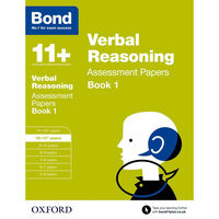 Bond 11+ Verbal Reasoning