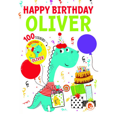 Happy Birthday Oliver image number 1
