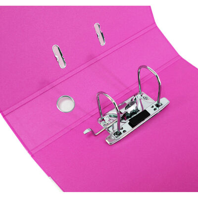 Bright Pink A4 Lever Arch File image number 2