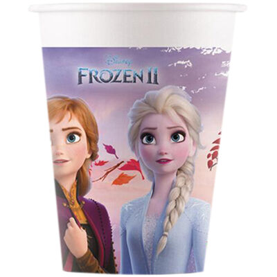 Disney Frozen 2 Paper Cups - 8 Pack image number 1