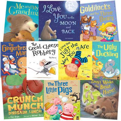Loving Stories: 10 Kids Picture Books Bundle image number 1