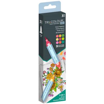 Spectrum Noir TriColour Aqua Markers: Floral Meadow image number 2