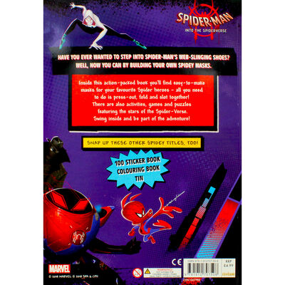 Spider Man Into The Spider-Verse Activity Play Book image number 4