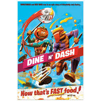 Fortnite Dine N Dash Poster