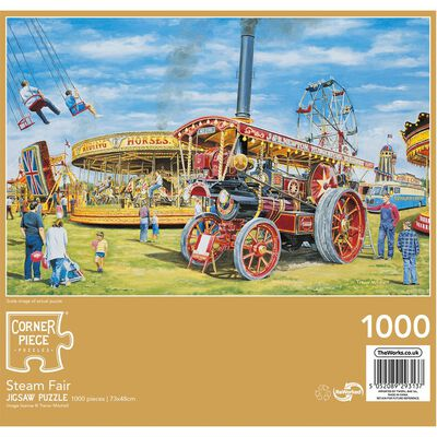 JCP FairgroundFun1000pc Jigsaw image number 3
