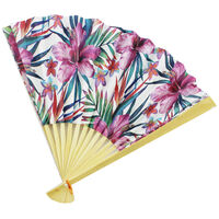 Paper Hand Folding Fan - Assorted