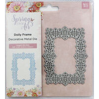 Crafters Companion Spring is in the Air Metal Die - Doily Frame