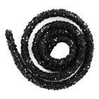 Black Glitter Craft Trim - 46cm image number 2