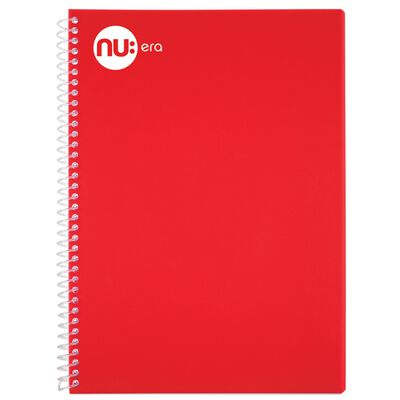 Nu Craze A5 Note Book - Red image number 1