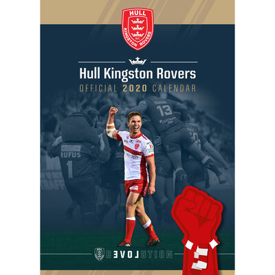 Hull Kingston Rovers Official 2020 Calendar image number 1