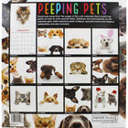 Peeping Pets 2020 Square Calendar image number 2