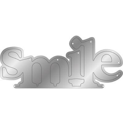 Gemini Stamp and Metal Die Set - Smile image number 2