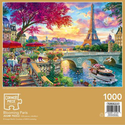 Blooming Paris 1000 Piece Jigsaw Puzzle image number 3