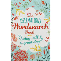 The Affirmations Blue Wordsearch Book