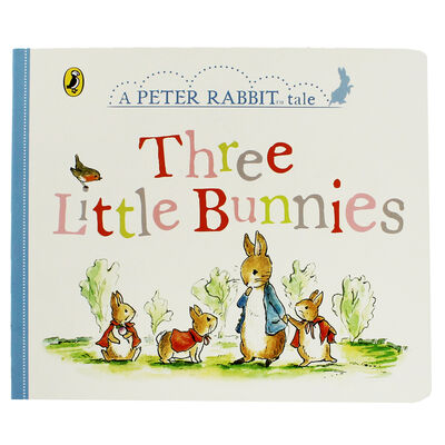 Three Little Bunnies: A Peter Rabbit Tale image number 1