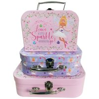 Fairy Storage Suitcases: Set of 3