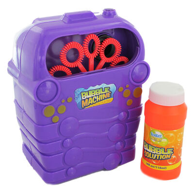Bubble Machine With Bubble Solution image number 1