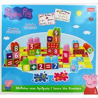 Peppa Pig Learn the Numbers Building Blocks