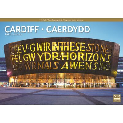 Cardiff A4 Calendar 2021 image number 1