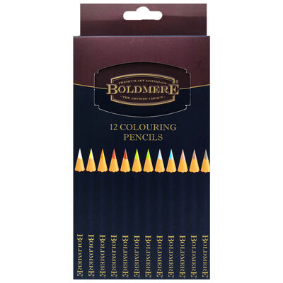 Boldmere Colouring Pencils: Pack of 12 image number 1