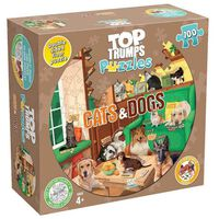 Top Trumps Cats & Dogs 100 Piece Jigsaw Puzzle