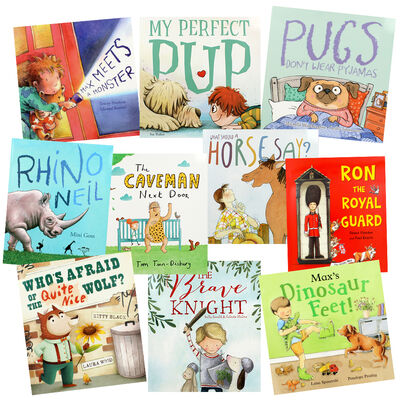 Bedtime Giggles - 10 Kids Picture Books Bundle image number 1
