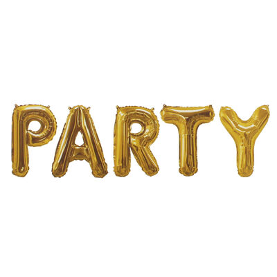 Gold Foil Party 16 Inch Balloon image number 2