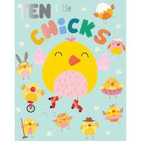 Ten Little Chicks: Oversized Edition