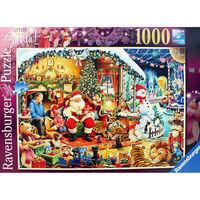 Lets Visit Santa 1000 Piece Jigsaw Puzzle
