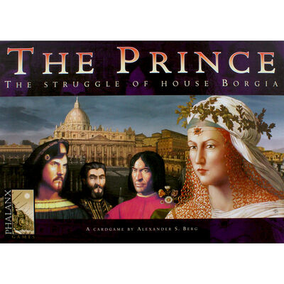 The Prince - The Struggle Of House Borgia Strategy Card Game image number 2
