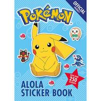 The Official Pokémon Alola Sticker Book