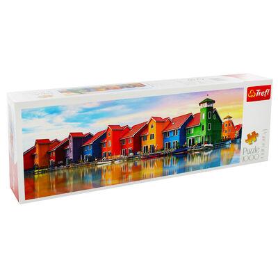 Groningen Netherlands Panorama 1000 Piece Jigsaw Puzzle image number 1