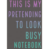 A5 Pretending to Look Busy Notebook