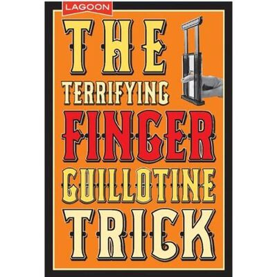 The Terrifying Finger Guillotine Magic Trick image number 1