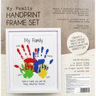 My Family Handprint Frame Set image number 4