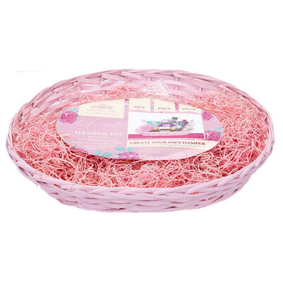 Pink Oval Hamper Kit image number 1