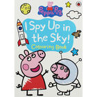 Peppa Pig: I Spy Up in the Sky! Colouring Book image number 1