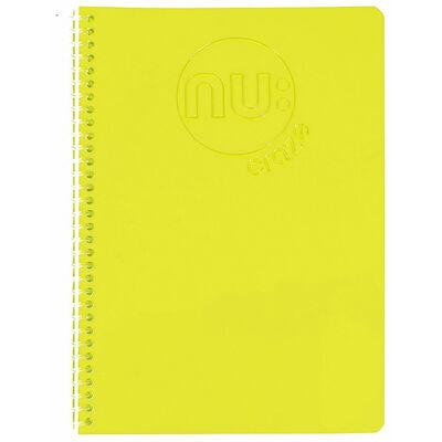 Nu Craze Glow A5 Spiral Notebook - Assorted image number 3