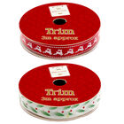 Christmas Ribbon Trim: Assorted 3m image number 7