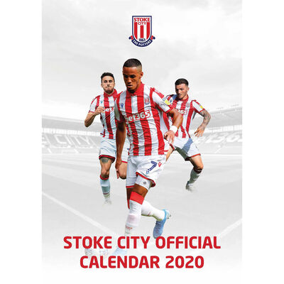 The Official Stoke City Football Club 2020 Calendar image number 1