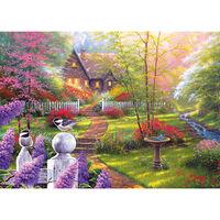 Birds in Garden 500 Piece Jigsaw Puzzle