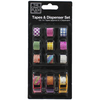 Craft Tapes and Dispensers Set